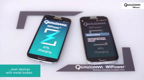 Qualcomm WiPower — беспроводная зарядка для металлических смартфонов