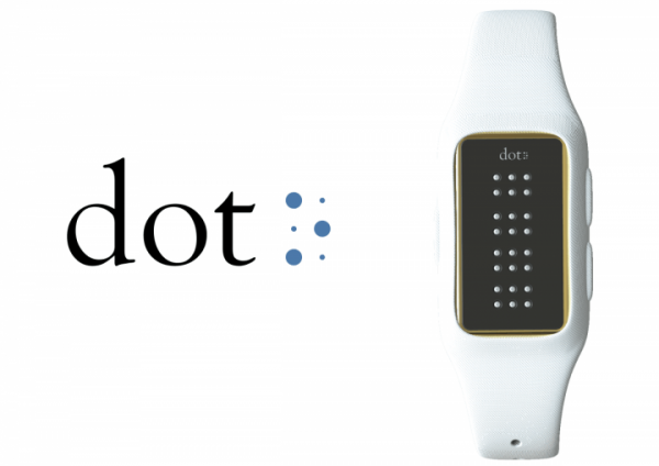 Dot — умные часы для слепых