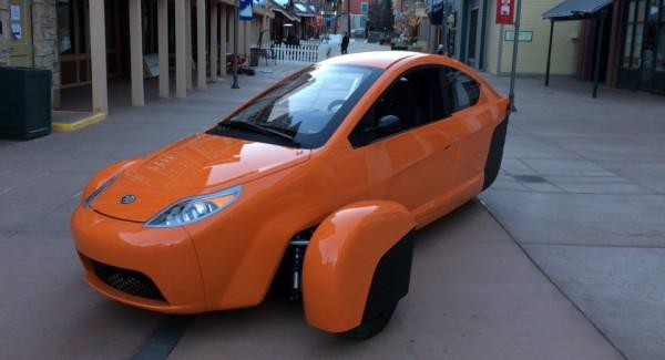 Elio — трехколесный автомобиль