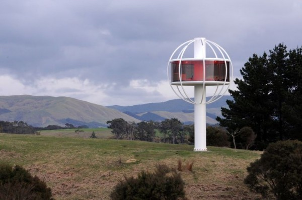 Skysphere — личная башня с комнатой отдыха