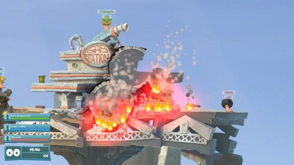Боевых червячков много не бывает: состоялся анонс игры Worms WMD