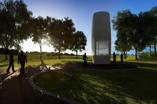 Smog Free Tower — башня, спасающая от смога