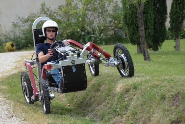 Swincar Spider: «электромобиль-паук» из Франции