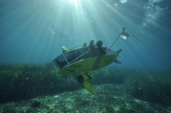 Scubster Nemo — личная электрическая субмарина