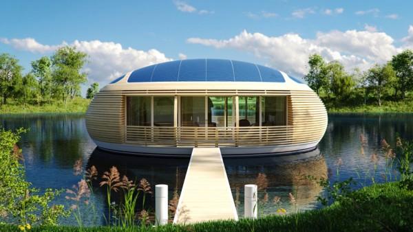 Waternest 100 — автономный дом на воде