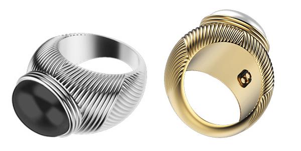Omate Ungaro — умное кольцо для влюбленных