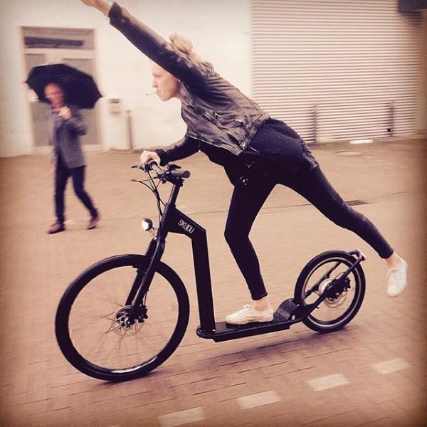 Skujou Cruise — городской электрический скутер