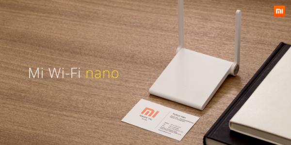 Mi Wi-Fi nano: крошечный 12-долларовый роутер от Xiaomi