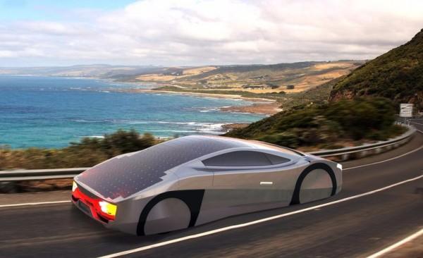 Immortus — спортивный автомобиль на солнечных батареях