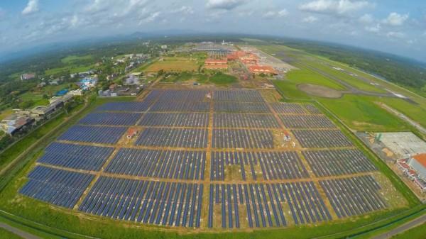Кочин — индийский аэропорт на солнечных батареях