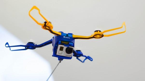 Fotokite Phi — дрон на поводке