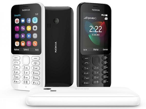 Nokia 222 — новый сотовый телефон от Microsoft