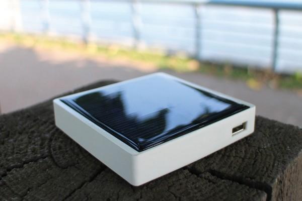 Аккумулятор Pocket Sun заряжается от движения, тепла и света