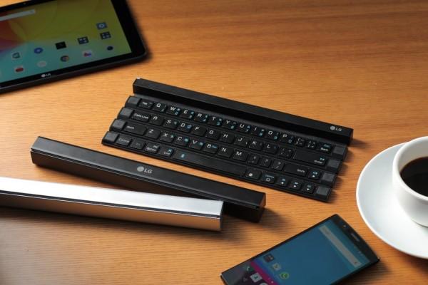 Rolly Keyboard — беспроводная складная клавиатура от LG