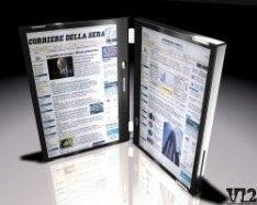 Ноутбук с двумя сенсорными экранами