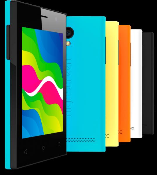 Highscreen Pure J — недорогой смартфон с броским дизайном