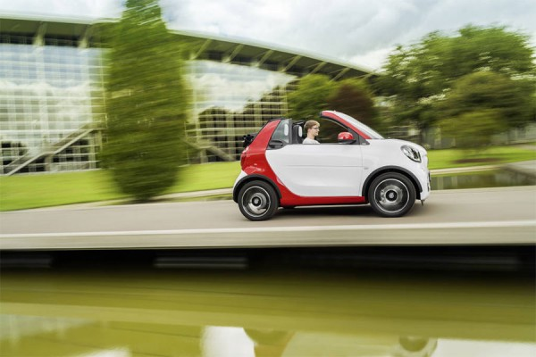 Smart Fortwo Cabrio — крошечный кабриолет