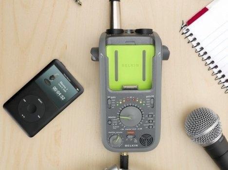 Устройство для записи на iPod – Belkin GoStudio Recorder