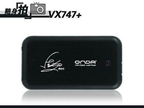 Новый портативный медиаплеер Onda VX747