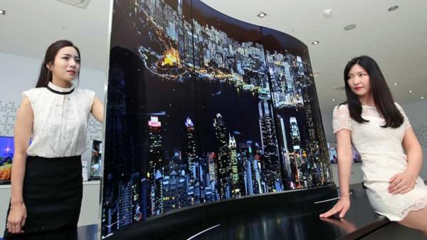 Wallpaper — изогнутый 2-сторонний телевизор от LG
