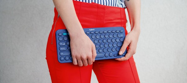 Logitech K380 — беспроводная клавиатура с круглыми клавишами