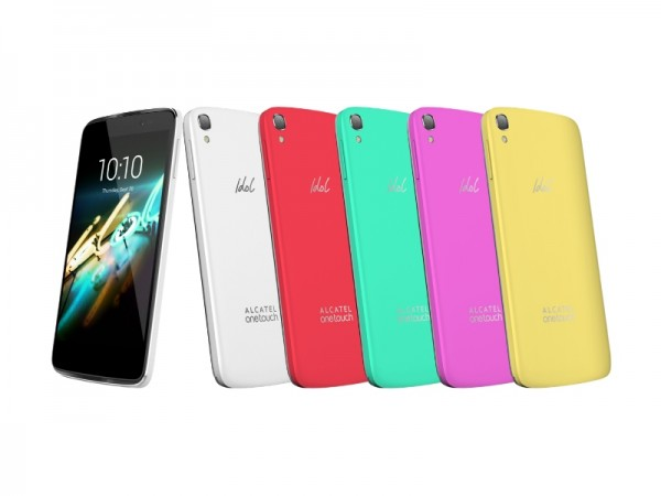 Alcatel OneTouch Idol 3C — флагман с симметричным дизайном
