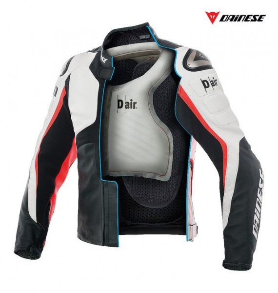 Misano 1000 — куртка с подушкой безопасности для мотоциклистов