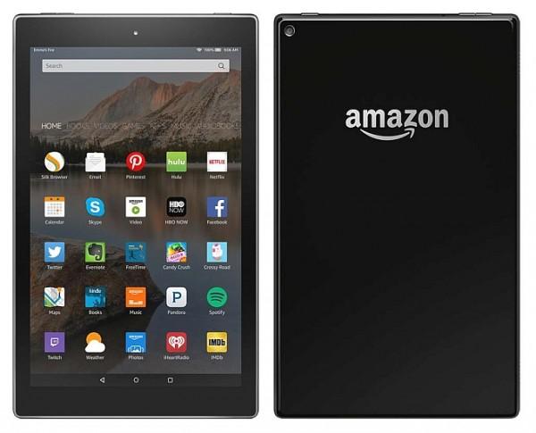 Amazon выпустит 10-дюймовый планшет Kindle Fire