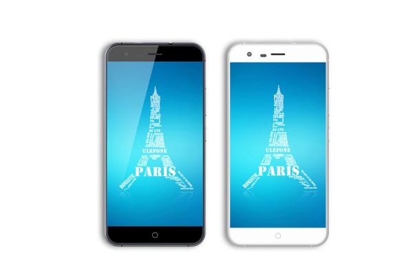 Paris: недорогой 5-дюймовый смартфон от ulefone