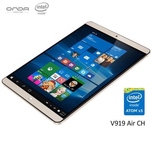 Onda V919 Air CH — планшет под управлением Windows 10