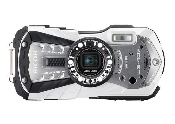 Ricoh WG-40: компактная камера для поклонников активного отдыха