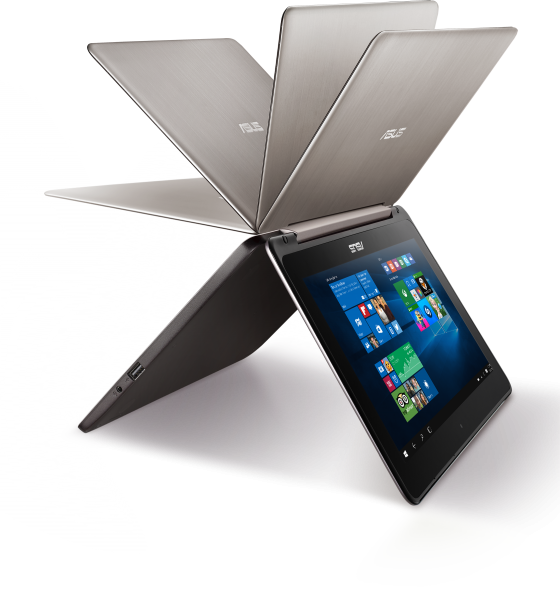 Asus представила ноутбук-раскладушку Transformer Book Flip FP200SA