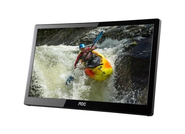 E1659FWUX-PRO: портативный 16-дюймовый дисплей от AOC