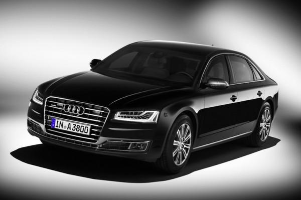 Audi представила бронированный седан A8 L Security
