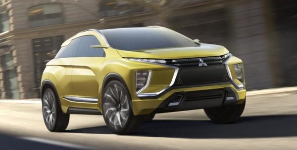eX Concept — электрический кроссовер от Mitsubishi