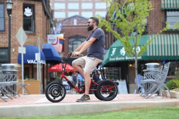 Liberty Trike: 3-колесный электрический велосипед для взрослых