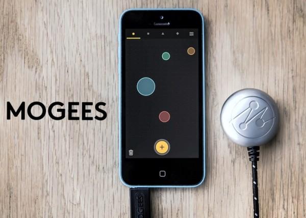 Mogees превращает в музыкальный инструмент любую вещь