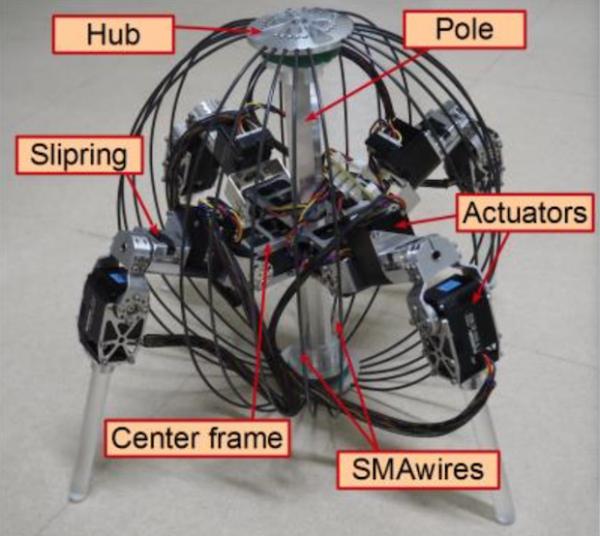 QRoSS — робот, которого можно бросать