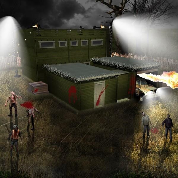 Убежище ZFC-1 спасет от зомби-апокалипсиса