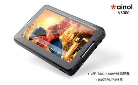 Ainol V3000 – медиаплеер с впечатляющим экраном