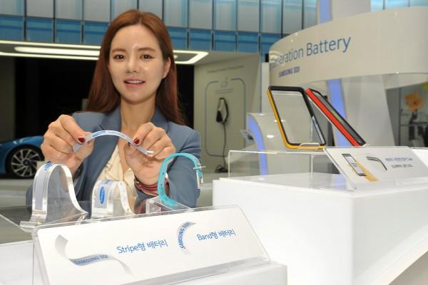 Band и Stripe — гибкие батареи от Samsung