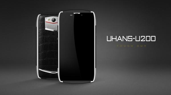 Uhans U200: защищенный смартфон в стиле Vertu