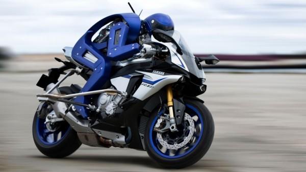 Motobot: робот-мотоциклист от Yamaha