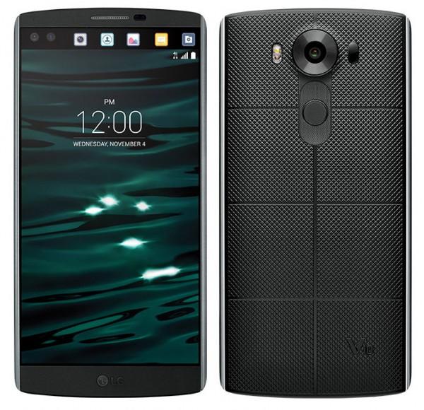 2-экранный LG V10 появился в продаже