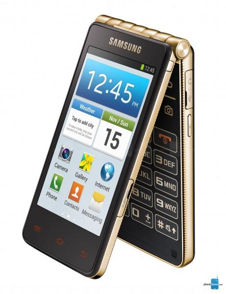 Samsung Galaxy Golden 3 – современная раскладушка