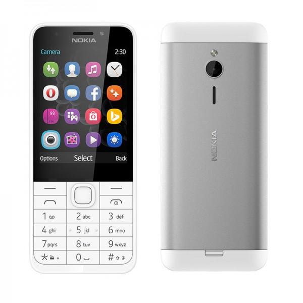 Nokia 230 — сотовый от Microsoft с задней панелью из алюминия