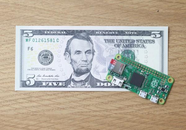 Raspberry Pi Zero: крошечный компьютер за 5 долларов