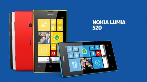 Самый популярный Windows-смартфон? Lumia 520!