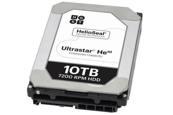 Ultrastar He10 — гелиевый жесткий диск объемом 10 ТБ