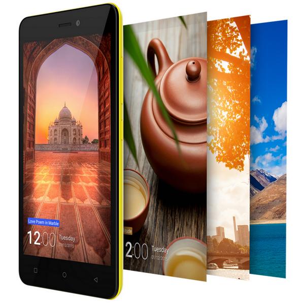 Gionee представила бюджетный смартфон P5W